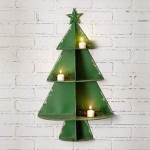 Christmas Tree Wall Display - Countryside Home Decor