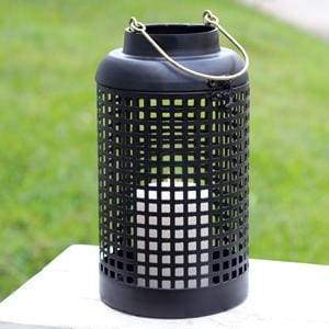 Cupertino Lantern - Black - Countryside Home Decor