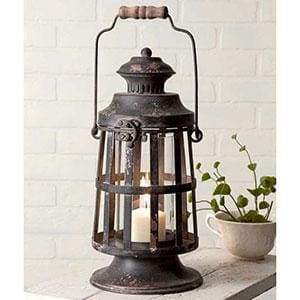 Curtis Island Candle Lantern - Countryside Home Decor