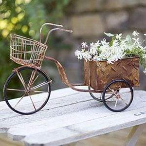 Delivery Trike Planter - Countryside Home Decor