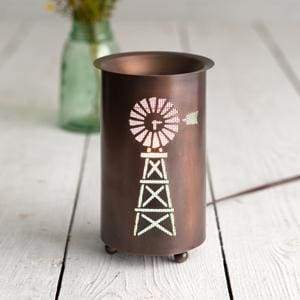 Farmhouse Windmill Tart Warmer - Countryside Home Decor