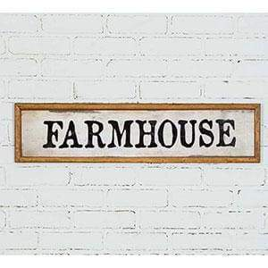 Farmhouse Wood Wall Sign - Countryside Home Decor