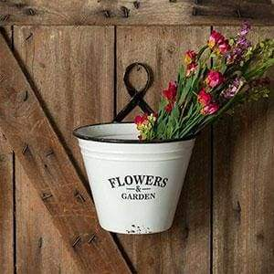 Flowers & Garden Wall Planter - Box of 2 - Countryside Home Decor
