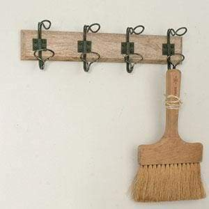 Four Hook Entryway Hanger - Box of 2 - Countryside Home Decor