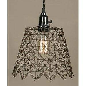 French Wire Pendant Lamp - Countryside Home Decor