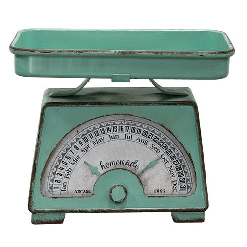 Vintage Scale Calendar - Countryside Home Decor