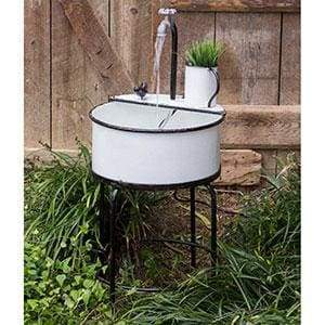 Garden Sink Fountain - Countryside Home Decor