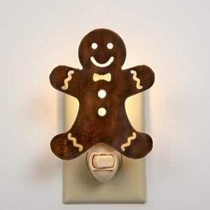 Gingerbread Night Light - Box of 4 - Countryside Home Decor