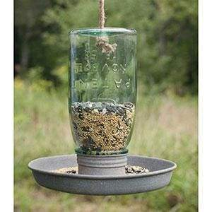 Hanging Mason Jar Birdfeeder - Countryside Home Decor