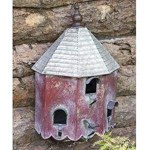 Heartwood Summer Birdhouse - Countryside Home Decor