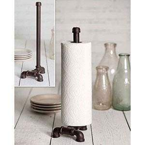 Industrial Tabletop Paper Towel Holder - Countryside Home Decor