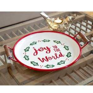 Joy to the World Serving Tray - Countryside Home Decor