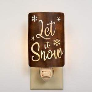 Let It Snow Night Light - Box of 4 - Countryside Home Decor