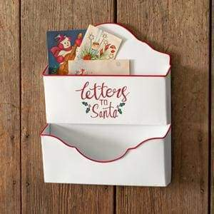 Letters to Santa Wall Pockets - Countryside Home Decor