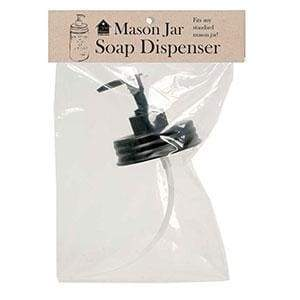 Mason Jar Soap Dispenser Lid - Box of 4 - Countryside Home Decor