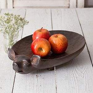 Medium Pig Tray - Countryside Home Decor