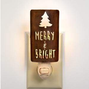 Merry & Bright Night Light - Box of 4 - Countryside Home Decor
