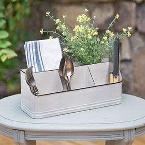 Metal Tabletop Organizer with Five Bins - Countryside Home Decor