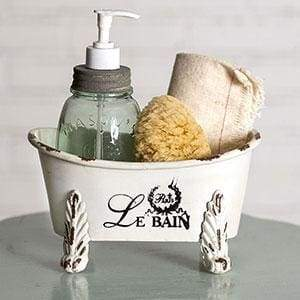 Mini Clawfoot Bathtub - Countryside Home Decor