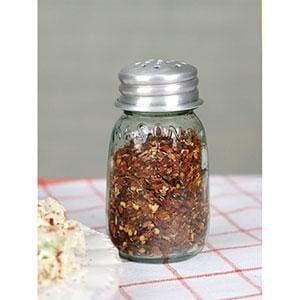 Mini Mason Crushed Red Pepper Shaker - Box of 4 - Countryside Home Decor