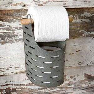 Olive Bucket Toilet Paper Holder - Countryside Home Decor