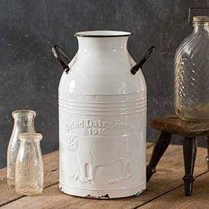 Oxford Dairy Farms Milk Can - Countryside Home Decor