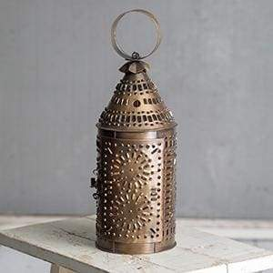 Paul Revere Candle Lantern - Antique Brass - Countryside Home Decor