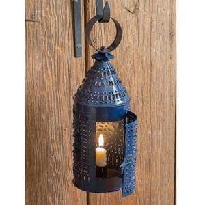 Paul Revere Candle Lantern - Blue - Countryside Home Decor