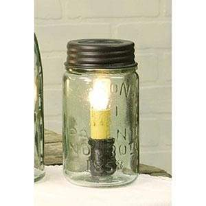 Pint Mason Jar Lamp - Countryside Home Decor