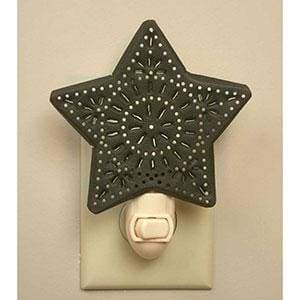 Punched Star Night Light - Box of 6 - Countryside Home Decor
