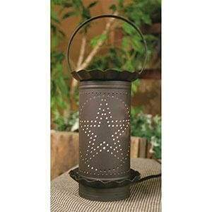 Punched Star Wax Warmer - Countryside Home Decor