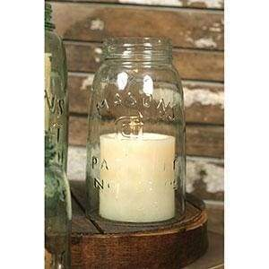 Quart Mason Jar Chimney - Countryside Home Decor