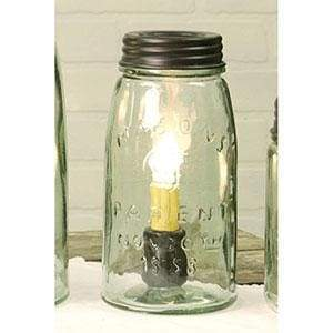 Quart Mason Jar Lamp - Countryside Home Decor