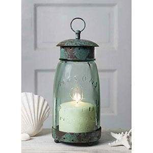 Quart Mason Jar Lantern - Countryside Home Decor
