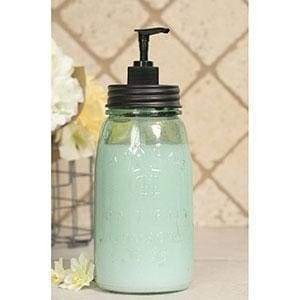 Quart Mason Jar Soap Dispenser - Black - Countryside Home Decor