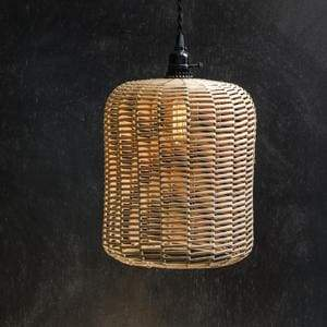 Rattan Santa Barbara Pendant Lamp - Countryside Home Decor
