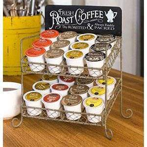 Roast Coffee K-Cup Caddy - Countryside Home Decor
