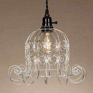 Romantic Shabby Pendant Lamp - Countryside Home Decor