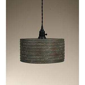 Round Pendant Lamp - Countryside Home Decor
