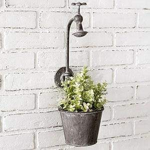 Showerhead Wall Planter - Countryside Home Decor