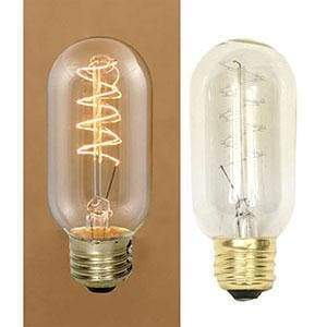 Small 40 Watt Vintage Light Bulb - Countryside Home Decor
