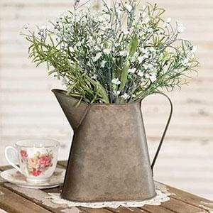 Small Metal Pitcher - Countryside Home Decor