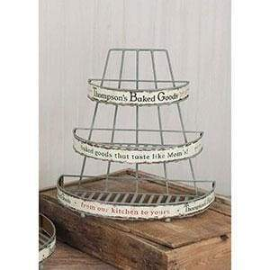 Small Thompson's Baked Goods Rack - Countryside Home Decor