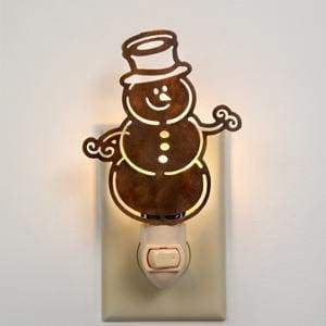 Snowman Night Light - Box of 4 - Countryside Home Decor