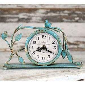 Songbird Mantel Clock - Countryside Home Decor
