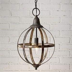 Sphere Pendant Light - Countryside Home Decor