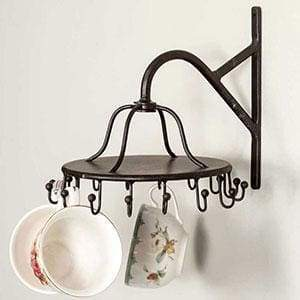 Spinning Sixteen Hook Rack - Countryside Home Decor