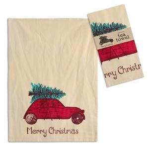 Toy Car Tea Towel - Box of 4 - Countryside Home Decor