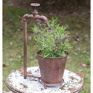 Water Spigot Tabletop Planter - Countryside Home Decor