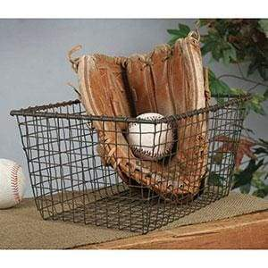 Wire Storage Basket - Countryside Home Decor